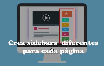 Cómo crear una sidebar adicional en wordpress