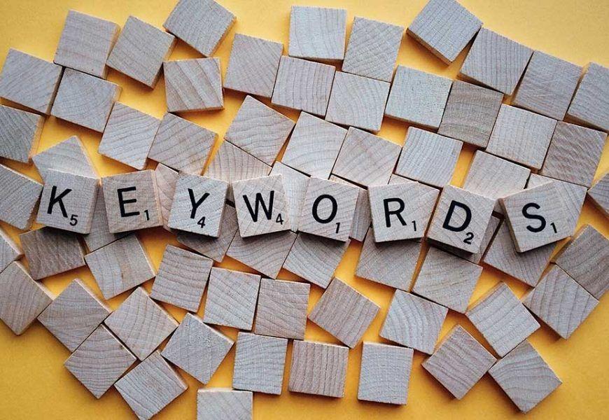 Cómo usar la palabra clave o keywords