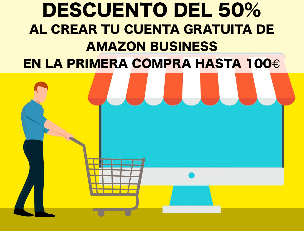 descuento amazon business