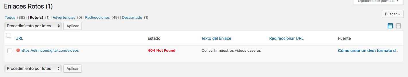 plugin enlaces rotos