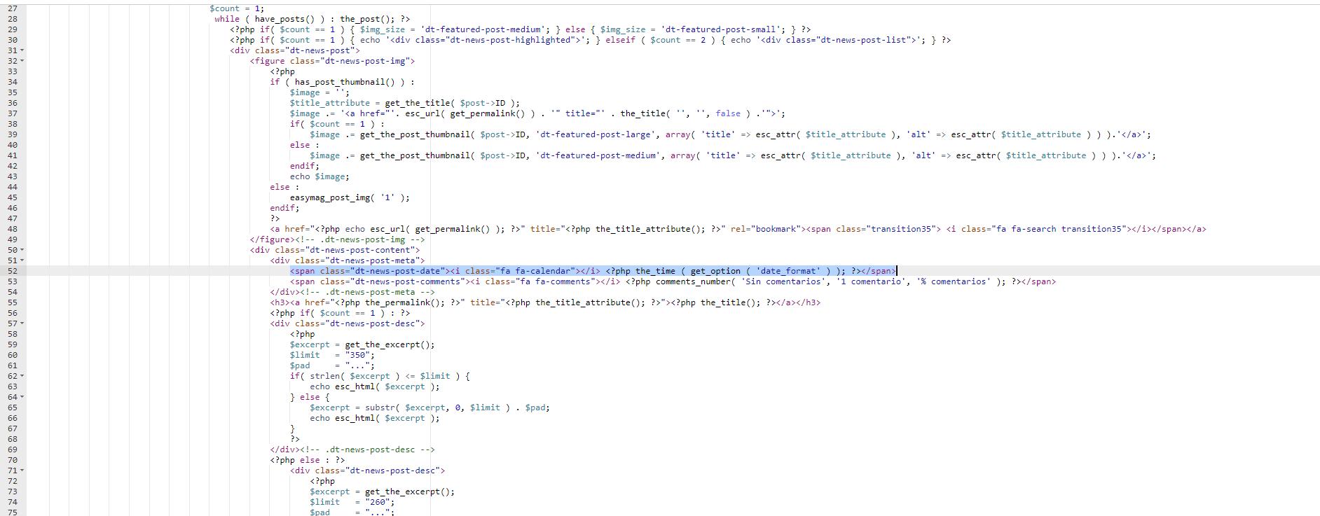 como-quitar-la-fecha-de-las-entradas-en-wordpress